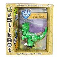Stikbot: Dino Single - Parasaurolophus (Green)