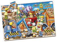 The Learning Journey: Jumbo Floor Puzzle - Construction image