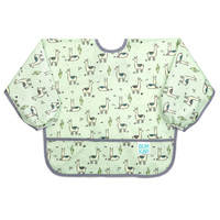 Bumkins: Waterproof Sleeved Bib - Llamas