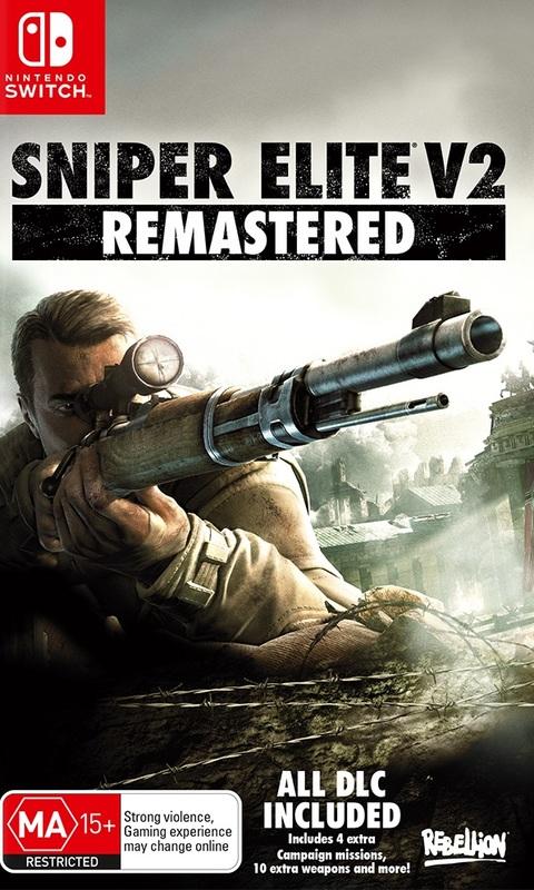 Sniper Elite V2 Remastered for Switch