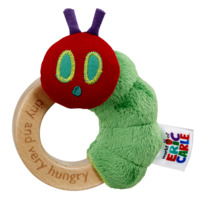 World Of Eric Carle: Tiny Caterpillar - Ring Rattle