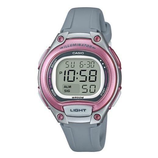 Casio Youth Illuminator Series Watch Grey/Pink - LW-203-8AVDF