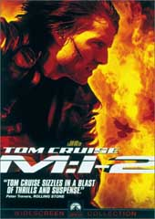 Mission Impossible 2 on DVD