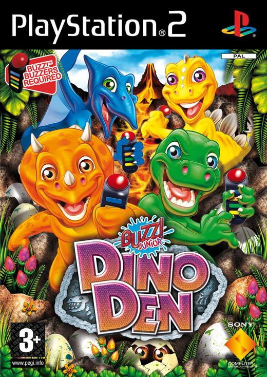 Buzz! Junior: Dino Den for PlayStation 2