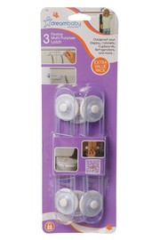 Dream Baby Multi-Purpose Latches - 3 Pack