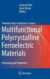 Multifunctional Polycrystalline Ferroelectric Materials image