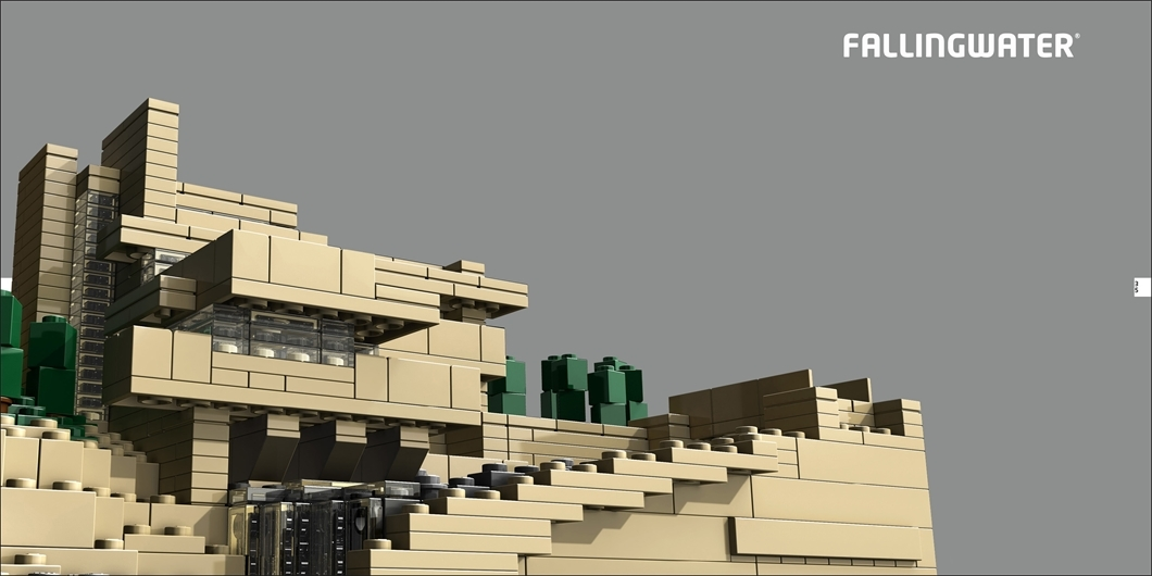 Lego Architecture: The Visual Guide by Philip Wilkinson image