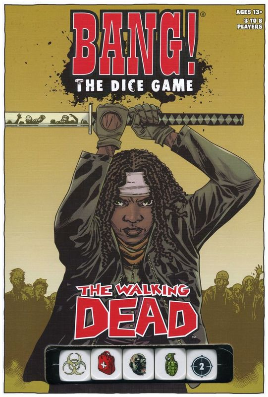 Bang! The Dice Game - The Walking Dead