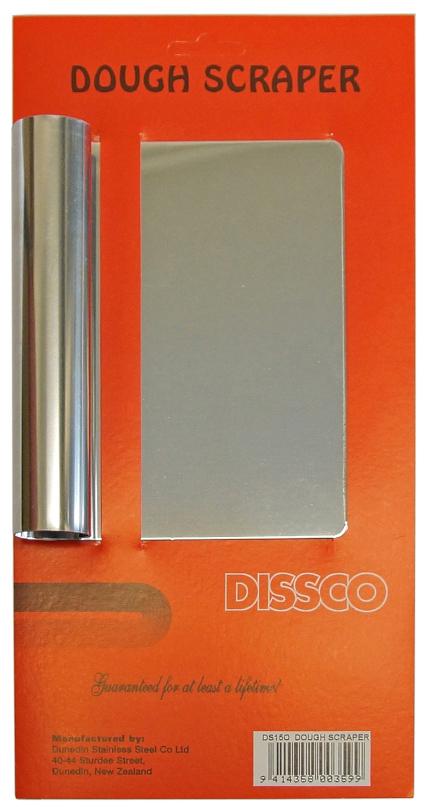 Stainless Steel Dough Scraper image