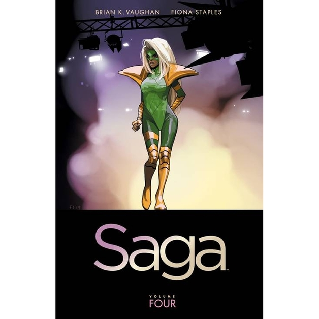 Saga Volume 4 by Brian K Vaughan