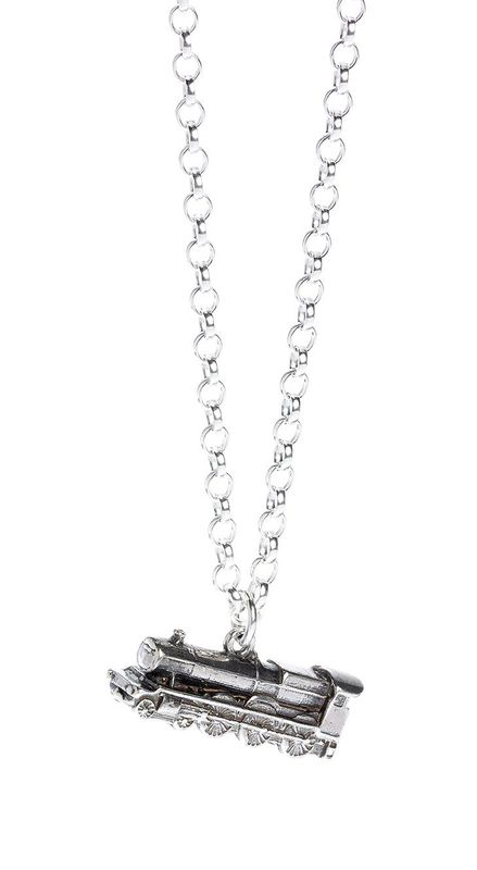 The Carat Shop: Official Harry Potter Hogwarts Express Train Necklace Sterling Silver