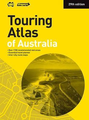 Touring Atlas of Australia 29th ed by UBD / Gregory's