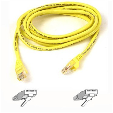 Belkin-Cat6 Patch Cable Snagless - 1m (Yellow)