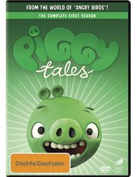 Angry Birds: Piggy Tales - Season 1 on DVD