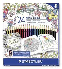 Staedtler - Noris Colour Pencils Johanna Basford - Pack of 24