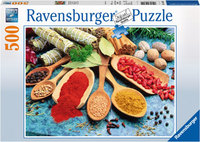 Ravensburger - Colorful Spices Table Puzzle (500pc)