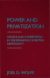 Power and Privatization by Joel D. Wolfe image