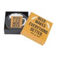 Annabel Trends Coasters - Beer (Set of 8)
