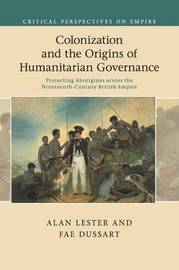 Critical Perspectives on Empire by Alan Lester