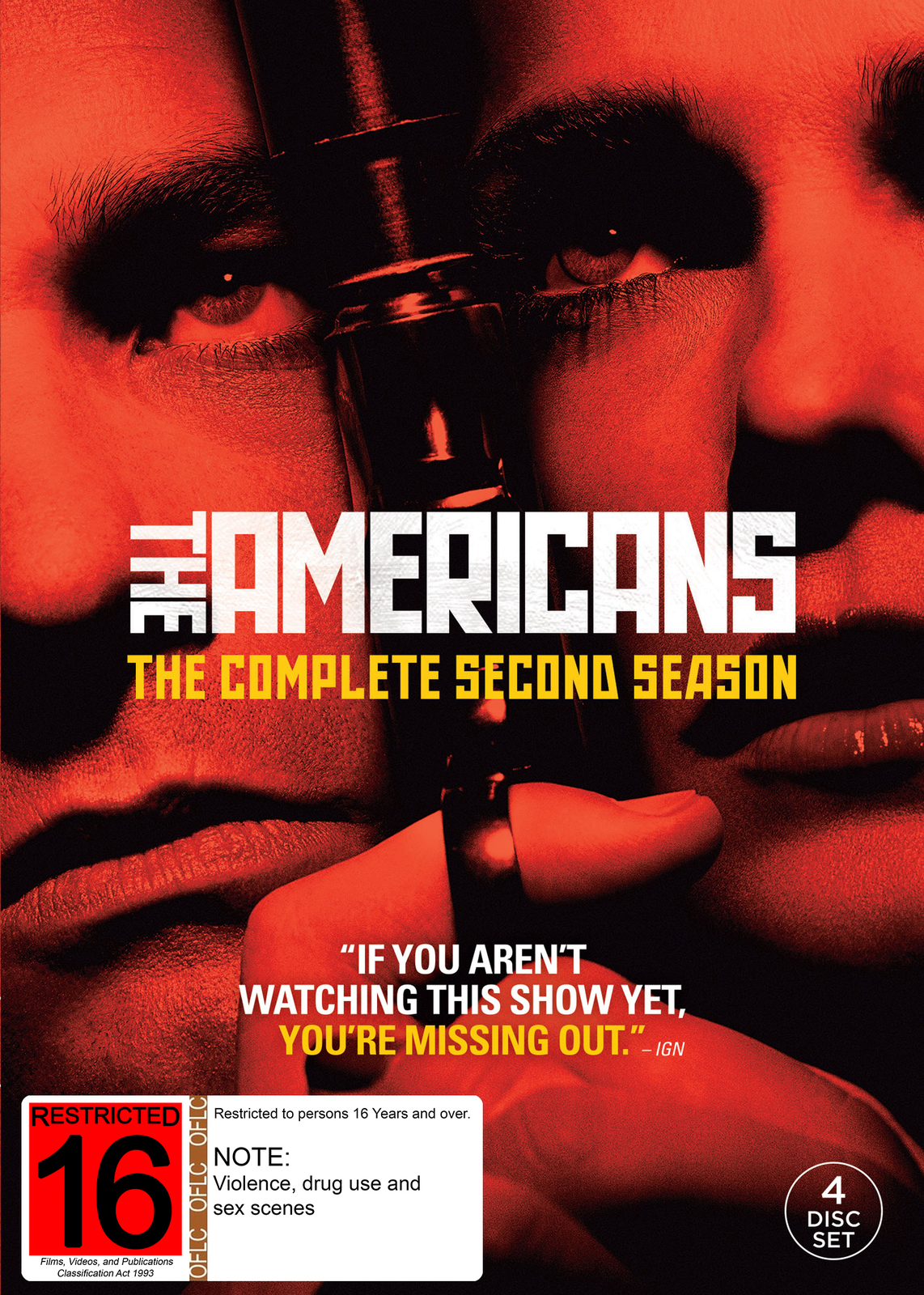 The Americans - The Complete Second Season on DVD image