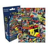 DC Comics: 100pc Batman Retro Collage Pocket Puzzle