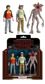 Stranger Things: Action Figure 3-Pack - Set #2