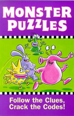 Monster Puzzles by Alan Rowe image