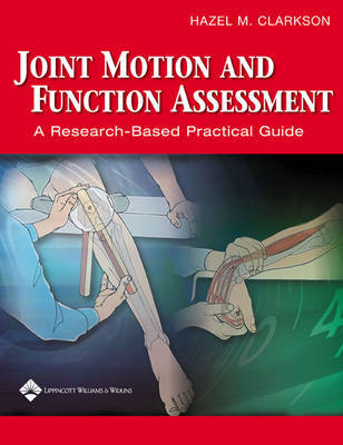 Joint Motion and Function Assessment by Hazel M. Clarkson image