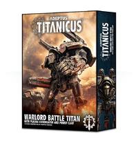 Warhammer 40,000 Adeptus Titanicus: Warlord Titan with Plasma Annihilator