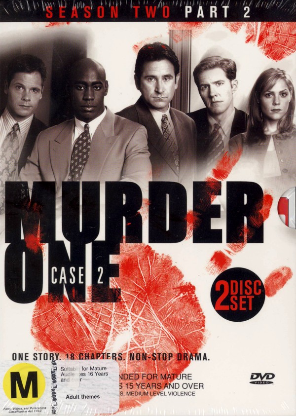 Murder One: Case 2 - Part 2 (2 Disc) on DVD image