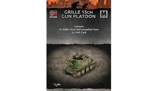 Flames of War: Grille 15cm Gun Platoon