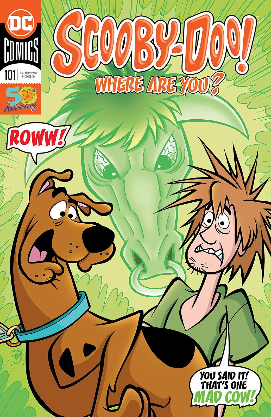 Scooby Doo: Where Are You - #101 (Cover A) by Sholly Fisch image