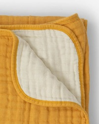 Little Unicorn: Cotton Muslin Quilt - Mustard