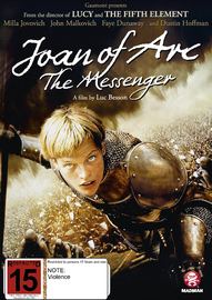 Joan Of Arc: The Messenger on DVD