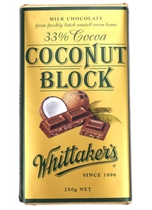 Whittakers Coconut Block (250g) image