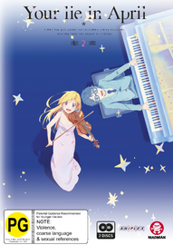 Your Lie In April Part 2 (eps 12-22) on DVD