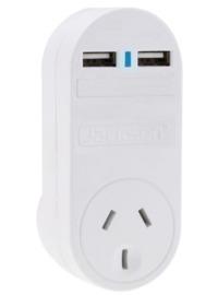 Jackson Single Plug USB Wall Charger