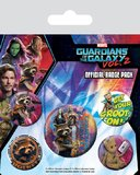 Guardians of the Galaxy Vol. 2 Pin Badges (Rocket & Groot)