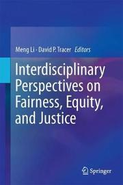 Interdisciplinary Perspectives on Fairness, Equity, and Justice image