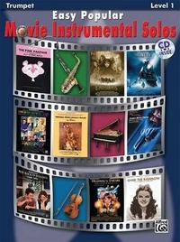 Easy Popular Movie Instrumental Solos: Trumpet