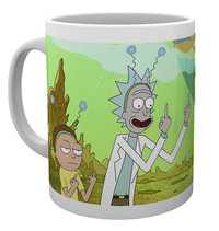Rick and Morty: Peace - Mug