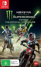 Monster Energy Supercross - The Official Videogame for Nintendo Switch