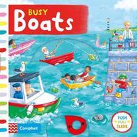 Busy Boats by Rebecca Finn
