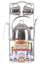 Melissa & Doug: Stainless Steel Tea Set