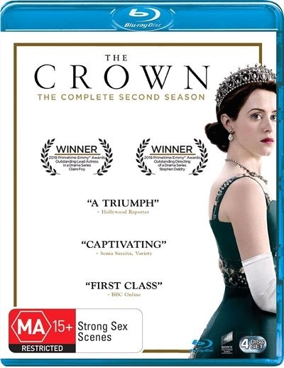 The Crown Season 2 on Blu-ray