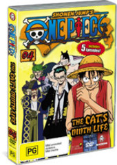 One Piece - Vol. 4: The Cat's Ninth Life on DVD