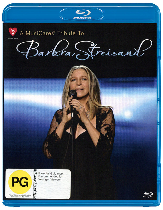 Barbra Streisand Live on Blu-ray