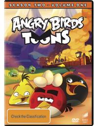Angry Birds Toons - Season 2: Volume 1 on DVD