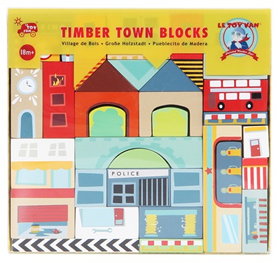 Le Toy Van: Timber Town Blocks image