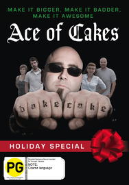 Ace Of Cakes - Holiday Special on DVD image